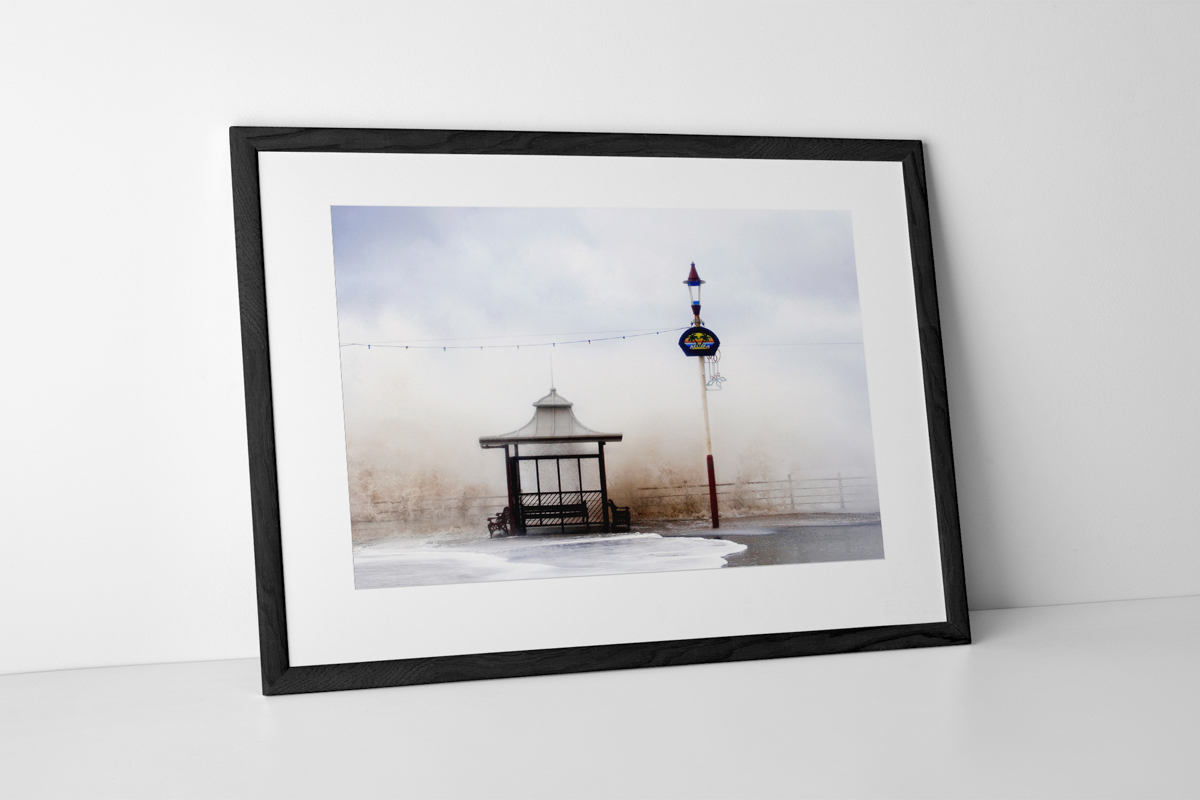 Aloha From Blackpool Limited Edition Photographic Print Presented In A Black Frame