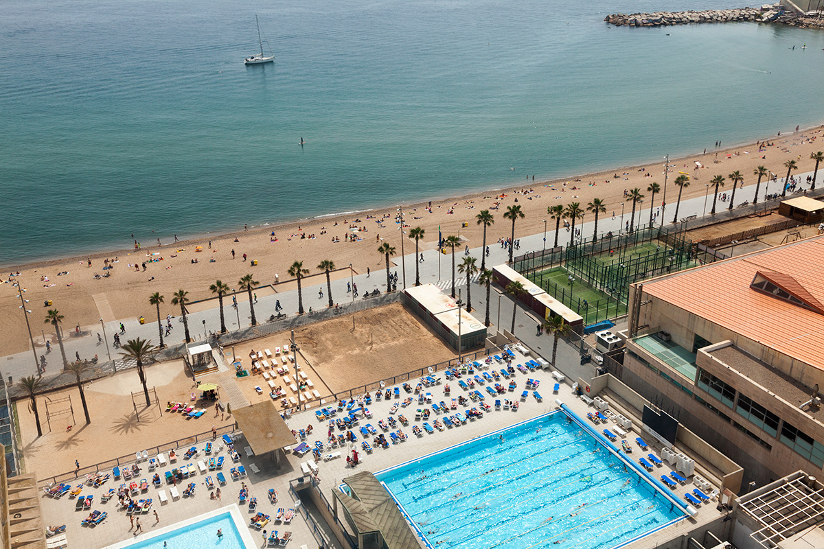 Club Natacio Atletic Barceloneta & St. Sebastia By Professional Photographer Yannick Dixon