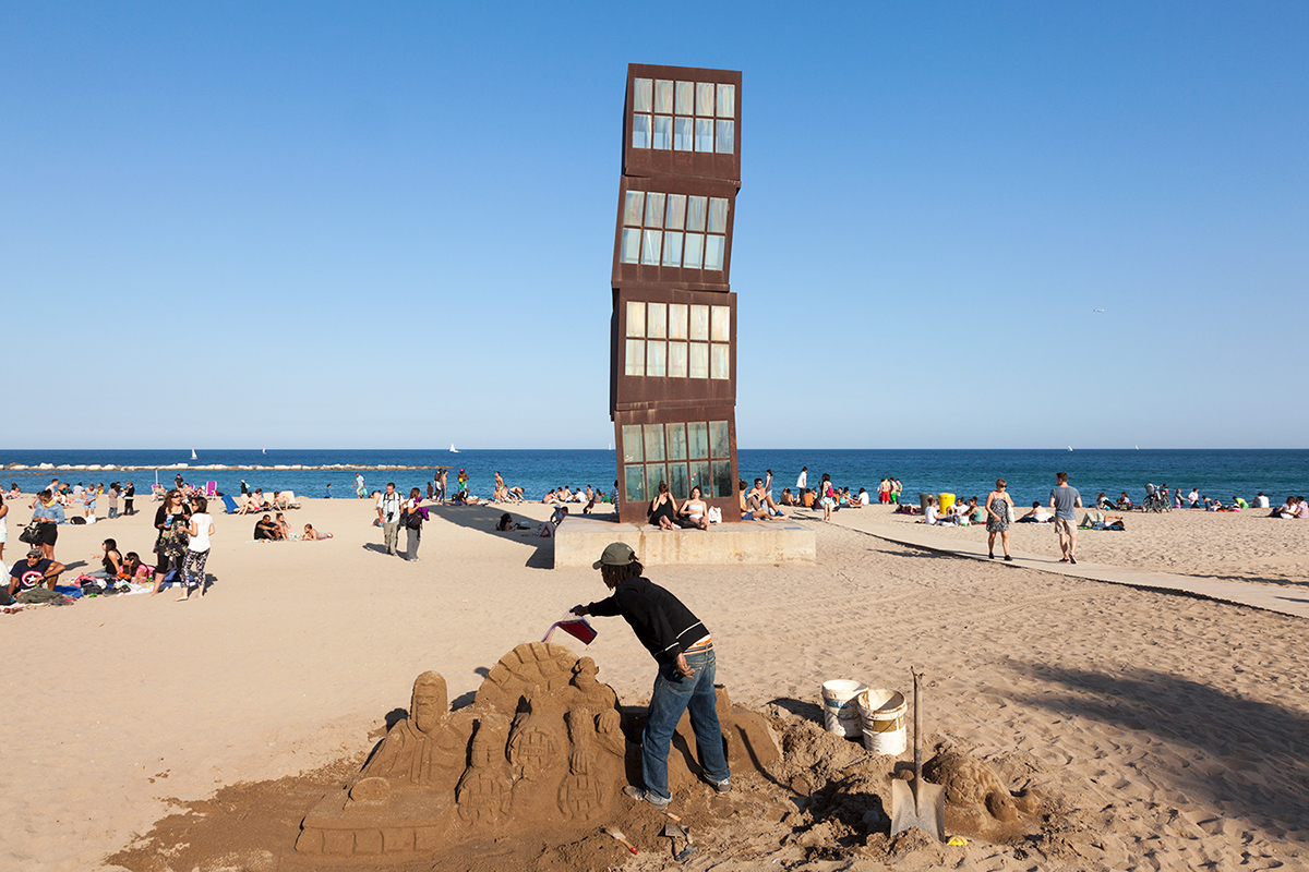 Homenatge a la Barceloneta By Rebecca Horn Photographed By Professional Photographer Yannick Dixon