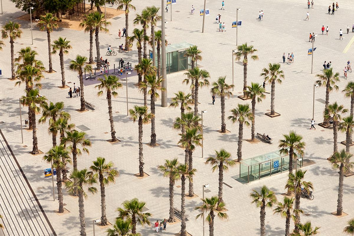 Placa del Mar Barcelona By Professional Photographer Yannick Dixon