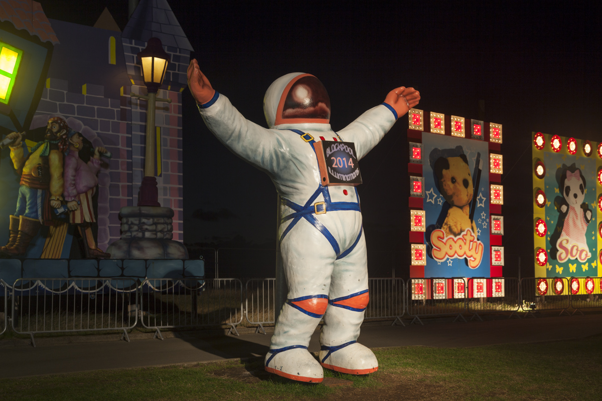 Astronaut - Blackpool Illuminations 2014 Photography