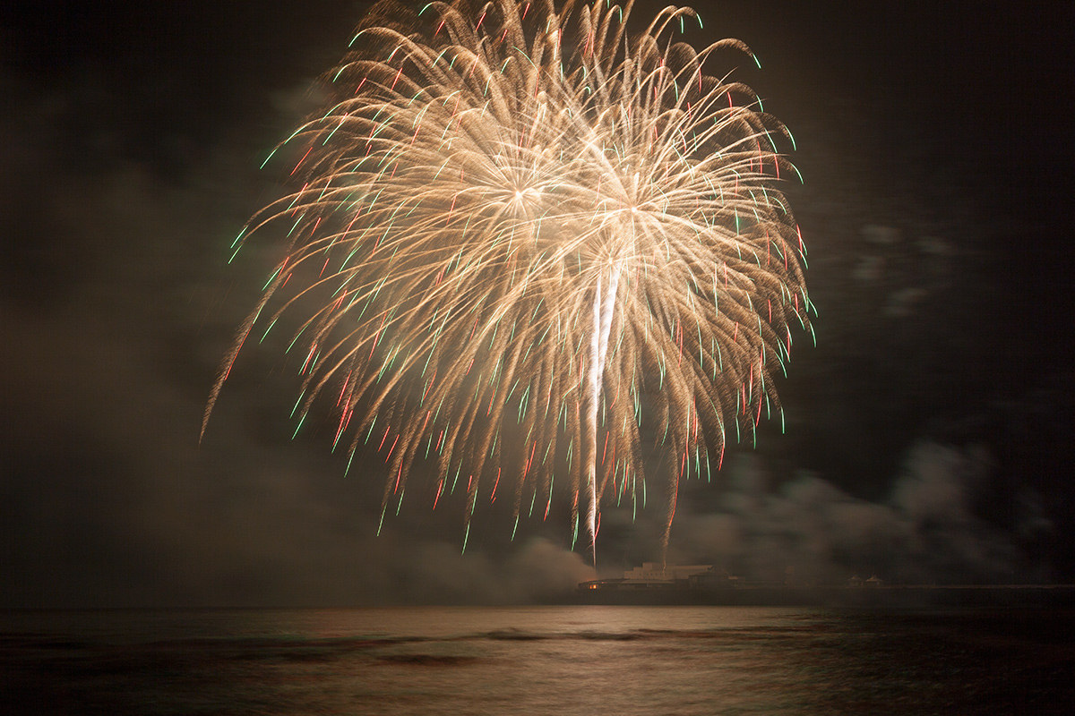 Canada's Firemaster Productions - Blackpool World Fireworks Championships