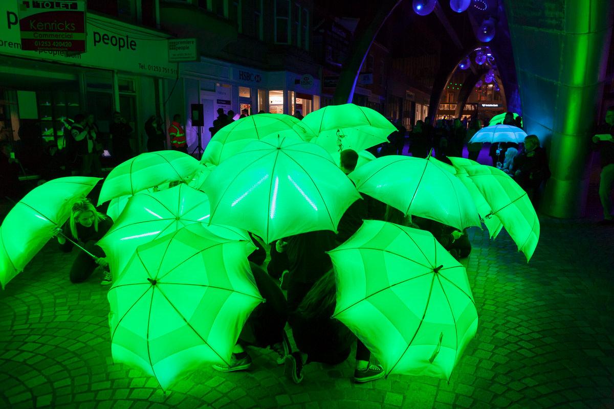 The Umbrella Project - Blackpool Illuminations 2015