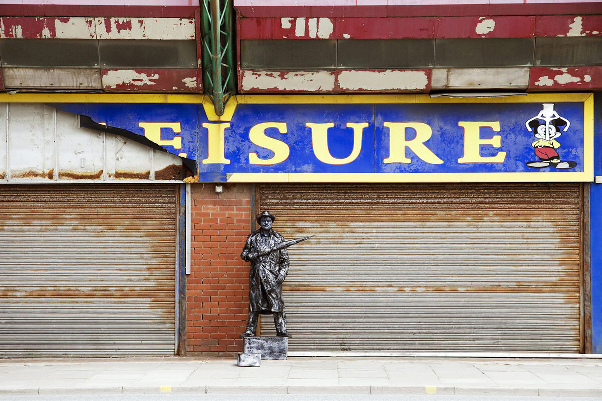The Living Statue in Blackpool By Yannick Dixon