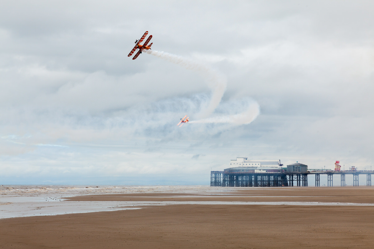 Blackpool Airshow Display By Yannick Dixon Photographic Works