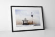 Aloha From Blackpool Photographic Print In Black Frame