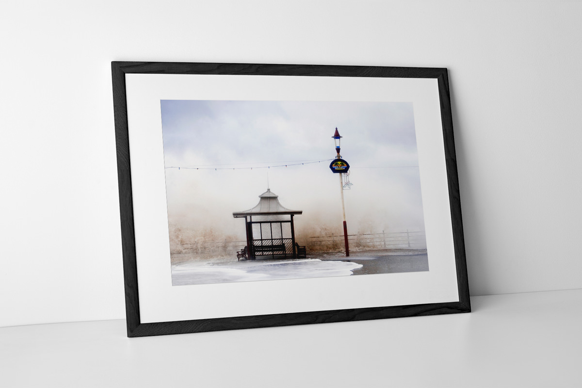 Aloha From Blackpool Photographic Print In Black Frame By Yannick Dixon