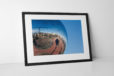 Blackpool Mirrorball Photographic Print In Black Frame