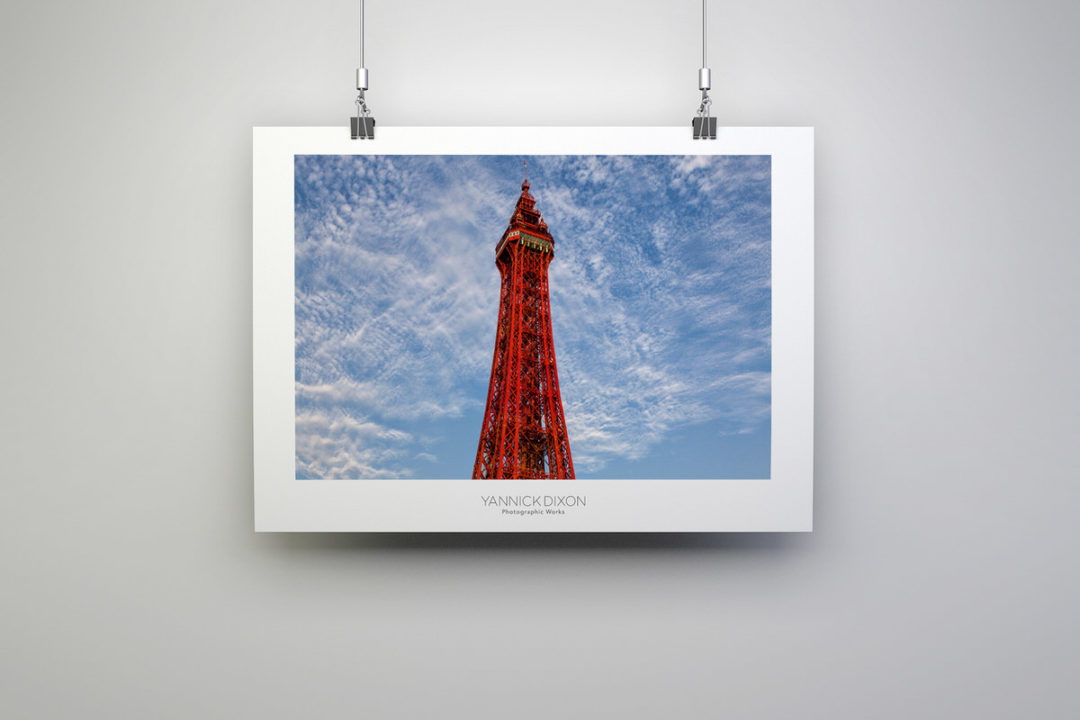 Blackpool Tower Photographic Print By Yannick Dixon