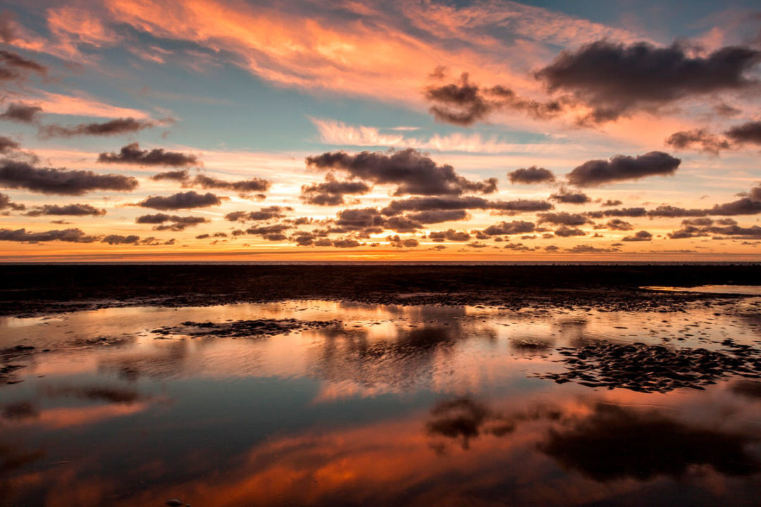 Blackpool Sunset Clouds Photographic Print By Yannick Dixon