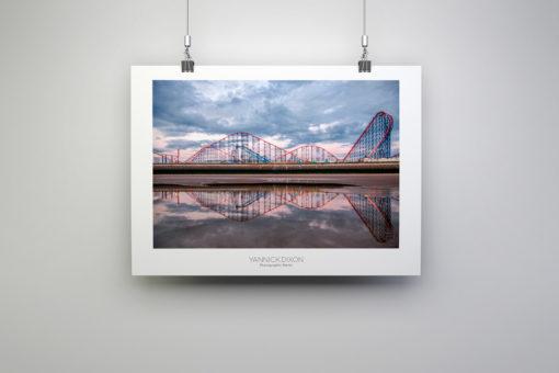 Pleasure Beach Reflection Photographic Print By Yannick Dixon