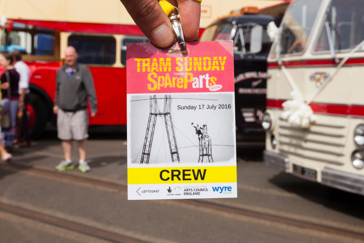 Photography Crew Pass - Fleetwood Tram Sunday 2016 - Photography By Yannick Dixon