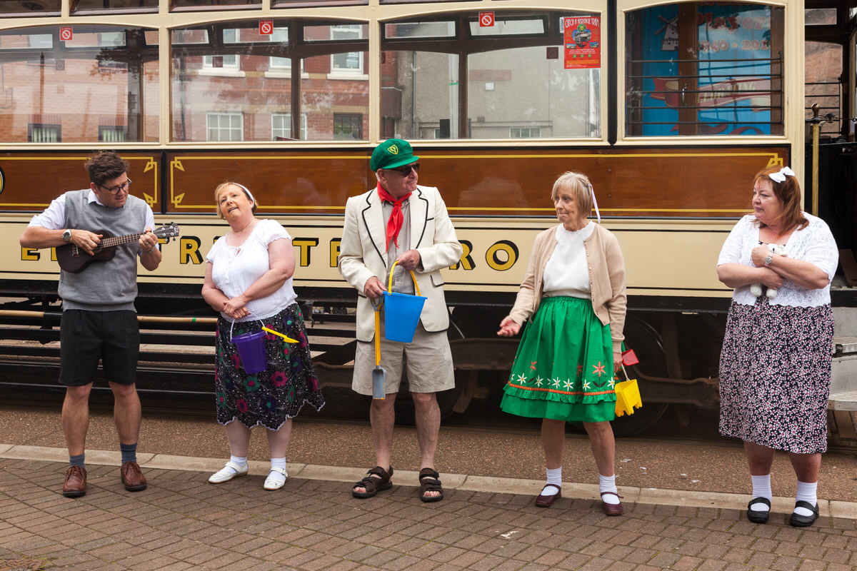 Tram Back In Time - The Windmill Players - Fleetwood Tram Sunday 2016 - Photography By Yannick Dixon