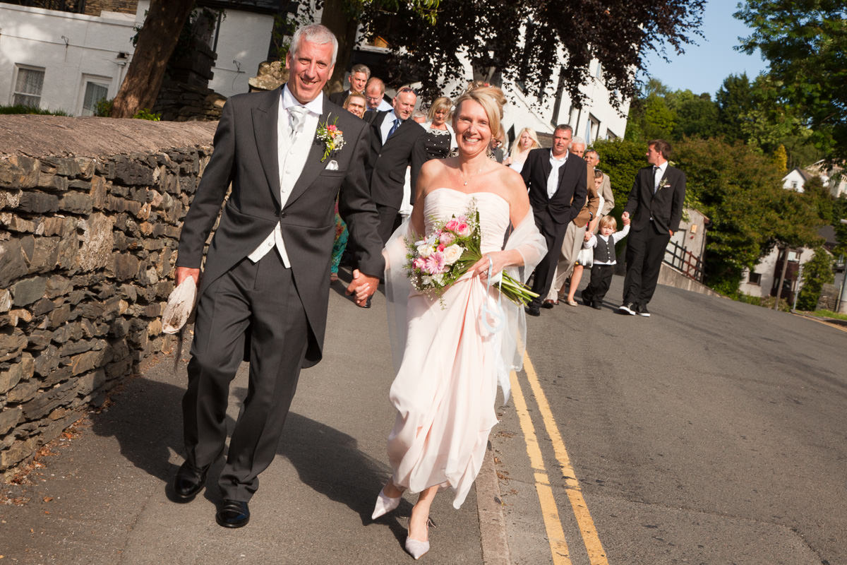 April & Doug's Lake District Wedding Photography By Yannick Dixon