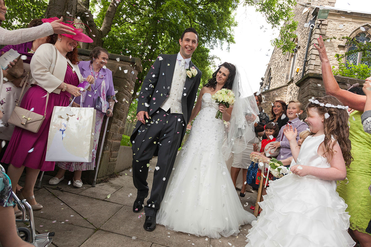 Daniel & Clair's Saddleworth Wedding Photography By Yannick Dixon