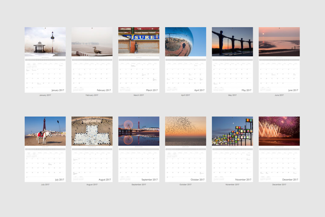 Blackpool Calendar 2017 Preview -Photography By Yannick Dixon