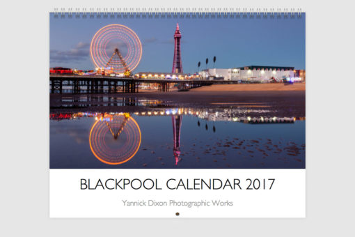 Blackpool Calendar 2017 Cover -Photography By Yannick Dixon