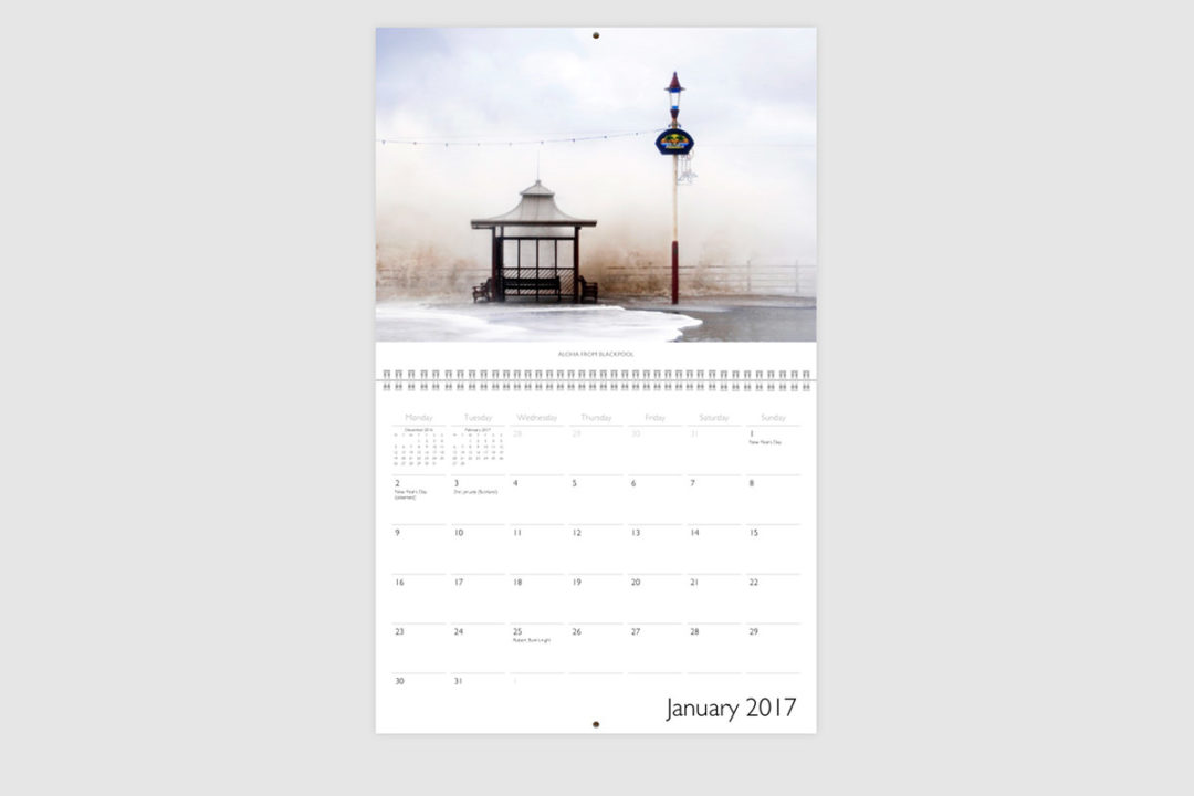 Blackpool Calendar January 2017 Preview -Photography By Yannick Dixon