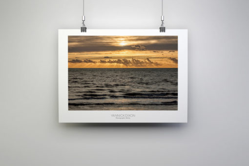 Seaside Sun Rays Print By Yannick Dixon