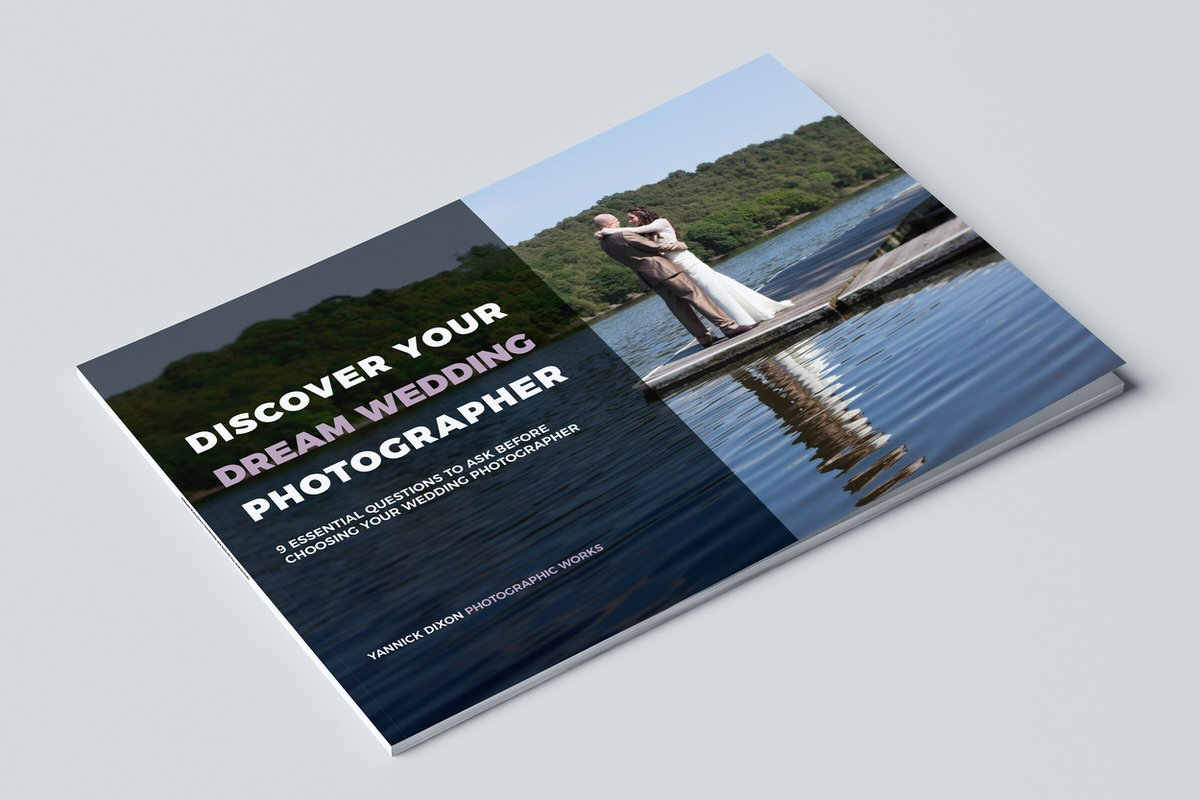 Discover Your Dream Wedding Photographer (FREE eBook Download)