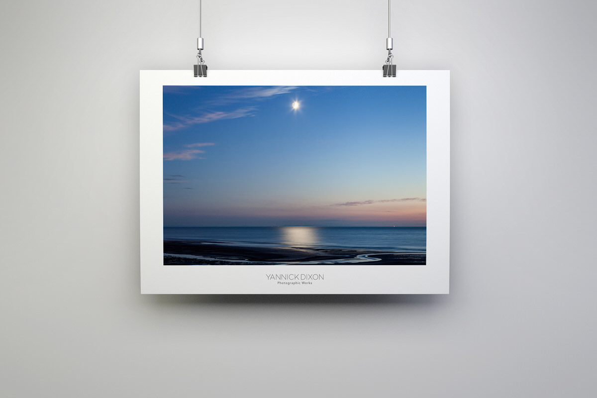 Shimmering Moonlight Print By Yannick Dixon