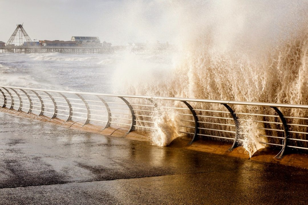 Blackpool Rising Tide By Yannick Dixon