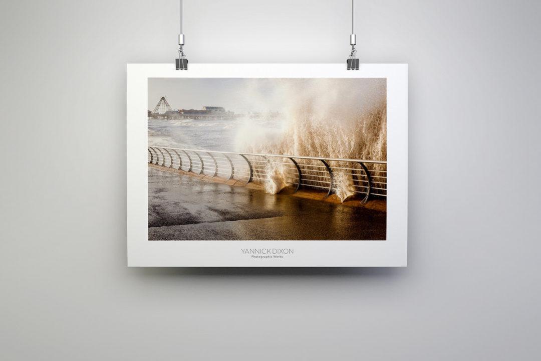 Blackpool Rising Tide Print By Yannick Dixon