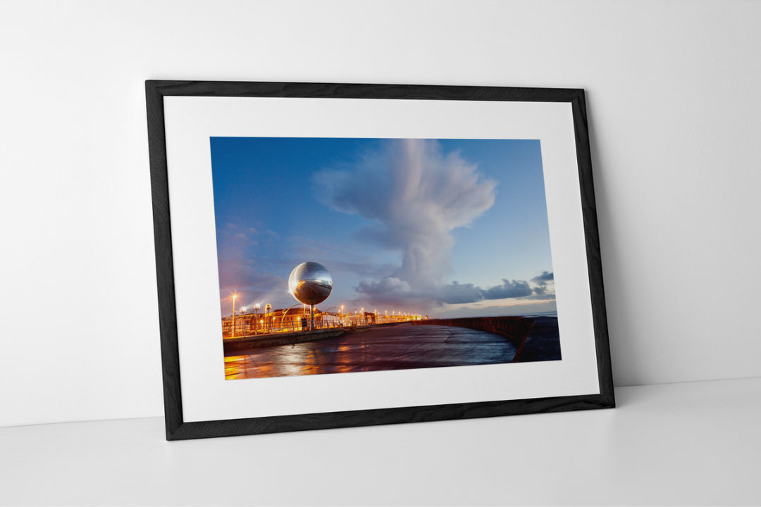 Cumulonimbus Cloud Photographic Print Presented In Black Frame By Yannick Dixon