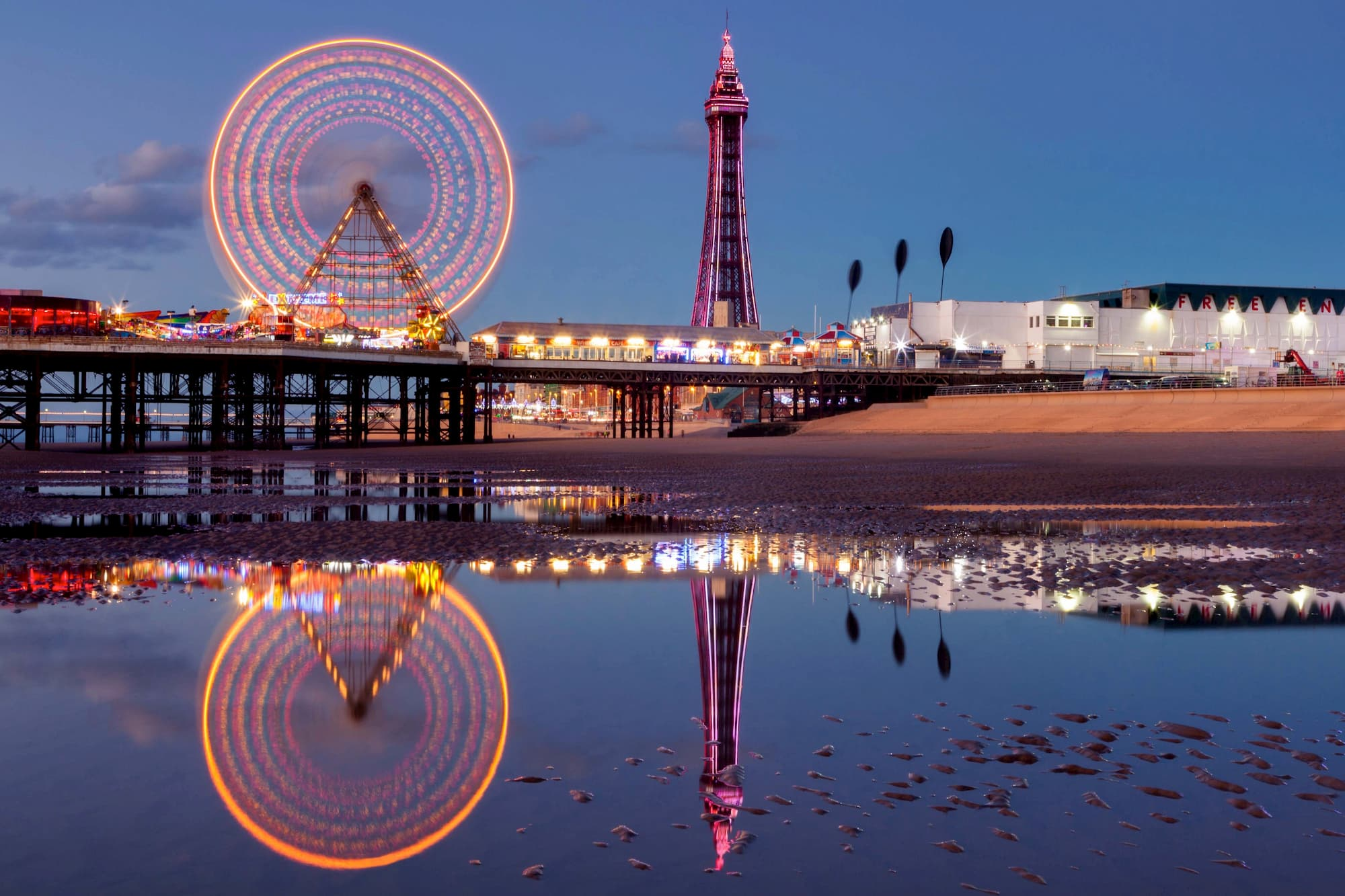 Reflections of Blackpool | Blackpool Photography
