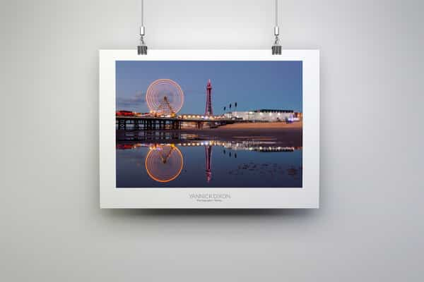 Blackpool Photography Prints By Yannick Dixon
