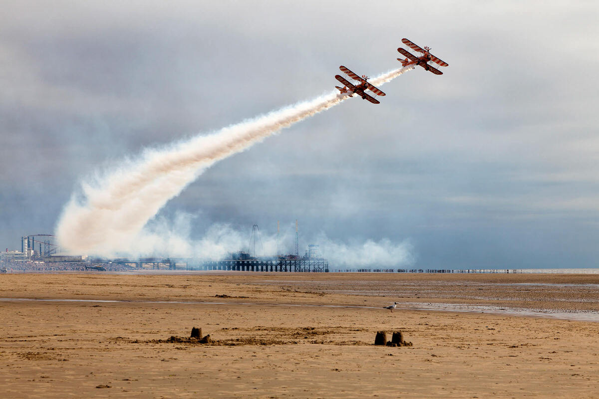 Blackpool Airshow Display - Free Things To Do In Blackpool