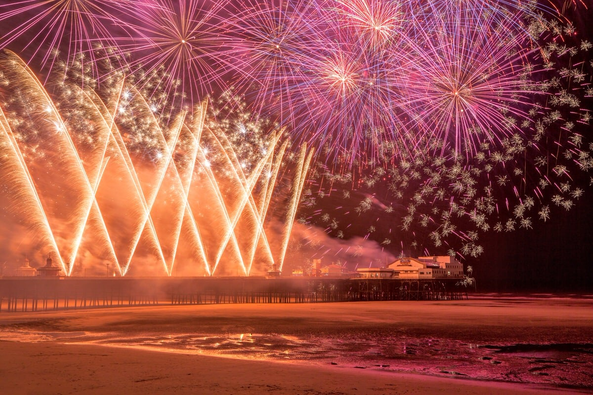 Blackpool Fireworks Display - Free Things To Do In Blackpool